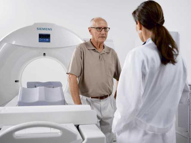 Перед проведением исследования врач проводит беседу с пациентом