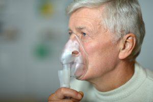 Вдыхание газообразных веществ с целью контрастного усиления при КТ