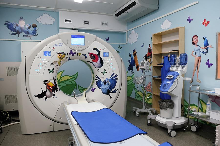 Кабинет томографии для детей